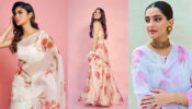 Mouni Roy Vs Tara Sutaria Vs Sonam Kapoor: Who looks absolutely stunning in hand-painted floral outfits?