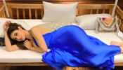 New Photos: Mouni Roy looks 'sexy' and 'sizzling' in blue gown