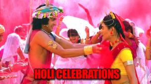 RadhaKrishn: Krishn celebrates Holi with Radha and Rukmini