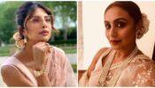 Rani Mukerji Vs Priyanka Chopra: Who carries white embroidered saree better?