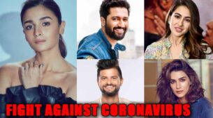 Read to know how Alia Bhatt, Sara Ali Khan, Suresh Raina, Vicky Kaushal and Kriti Sanon are fighting against Coronavirus 1