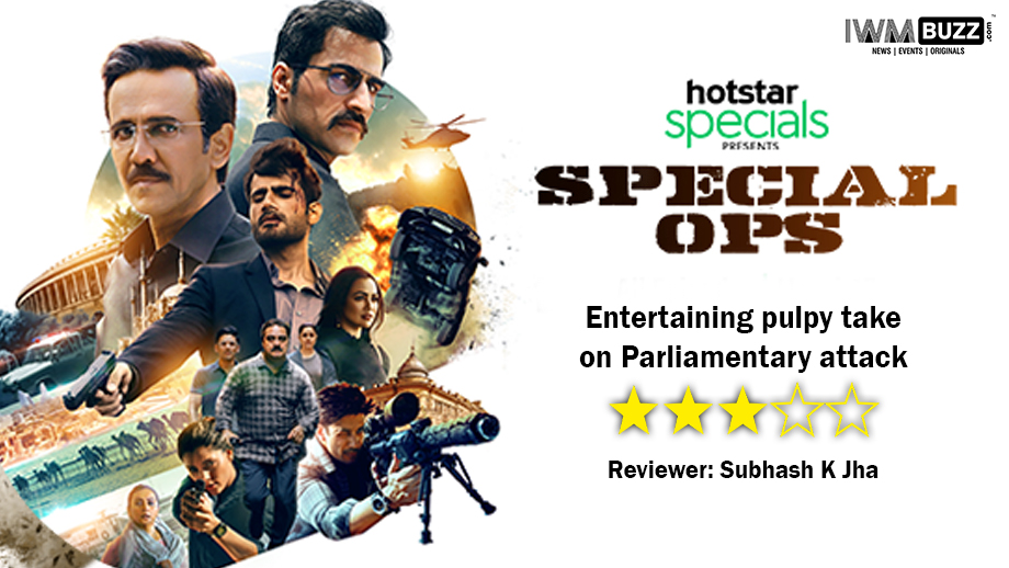 Review of Hotstar's Special Ops: Entertaining pulpy take on Parliamentary attack