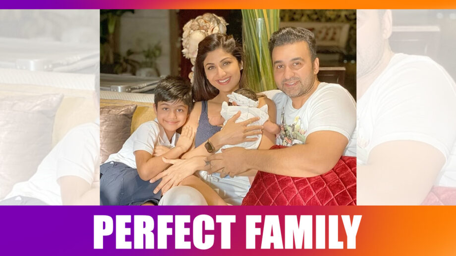 Shilpa Shetty with her newborn: A Perfect Family