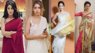 Shivangi Joshi, Niti Taylor, Hina Khan, Divyanka Tripathi: Who Looks Gorgeous In Chiffon Saree?