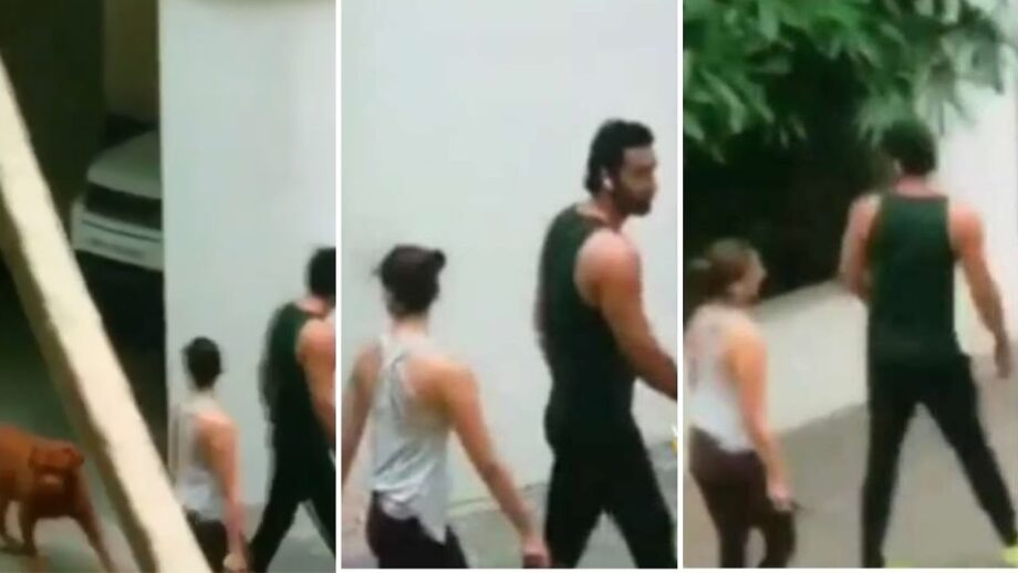SHOCKING: Ranbir Kapoor-Alia Bhatt spotted IN VIDEO strolling outside TOGETHER during the lockdown