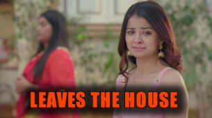 Shubharambh: Rani accepts her defeat and leaves the house