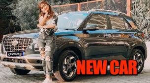 TikTok star Nagma Mirajkar buys a new swanky car
