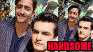 When Mohsin Khan posed with the 'much more handsome' Shaheer Sheikh