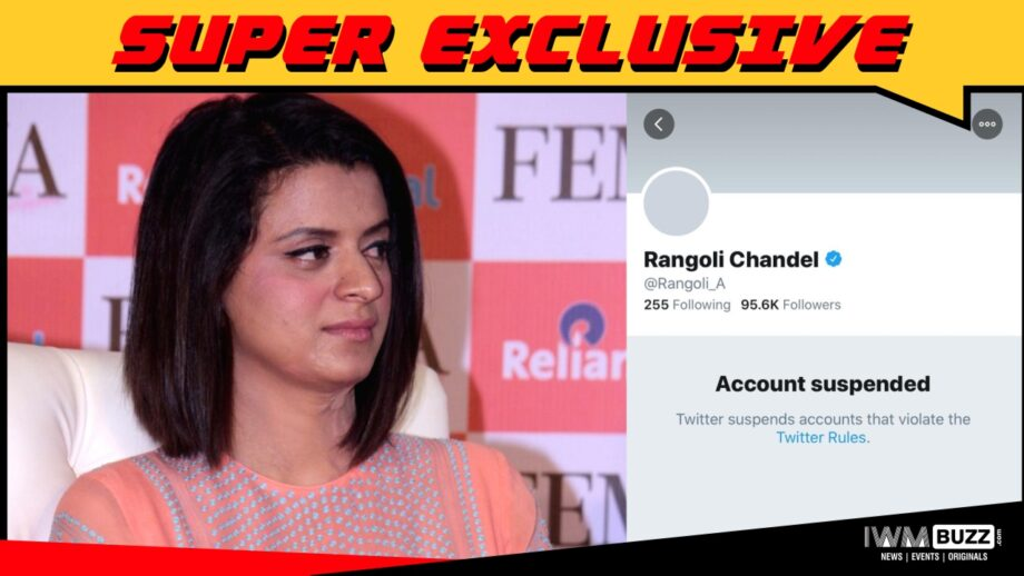 A biased platform like Twitter can be easily avoided - Kangana Ranaut's sister Rangoli Chanel's exclusive reaction to IWMBuzz