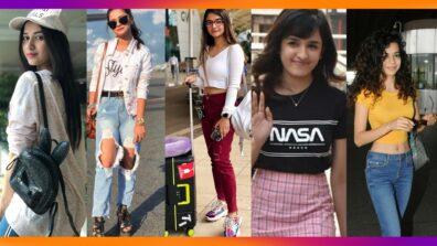 Airport Diaries: Jannat Zubair, Avneet Kaur, Anushka Sen, Shirley Setia, Mithila Palkar's Casual Style Is Effortlessly Chic!