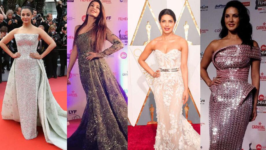 Aishwarya Rai Bachchan, Jacqueline Fernandez, Priyanka Chopra, Sunny Leone: Learn how to dress like a leading woman on the red carpet 2