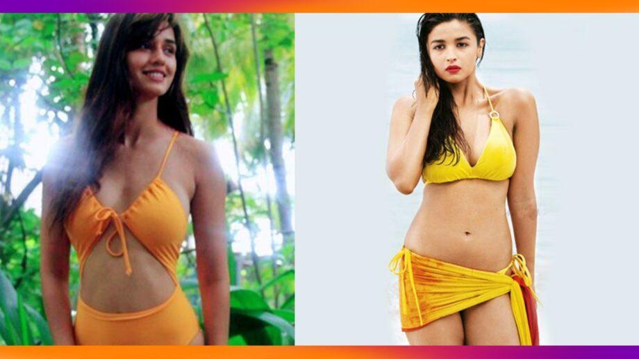 Alia Bhatt Vs Disha Patani: Who carries an itsy bitsy teeny weeny yellow best?