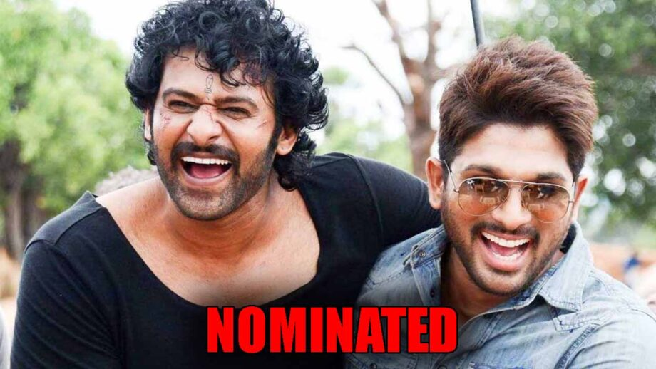 Allu Arjun and Prabhas get nominated for a special project, DETAILS INSIDE