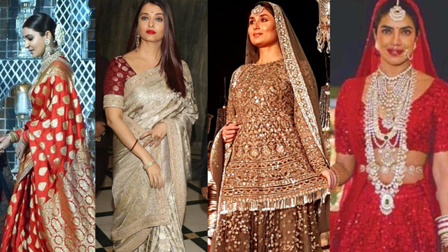 Anushka Sharma, Aishwarya Rai Bachchan, Kareena Kapoor Khan, Priyanka Chopra Jonas: 10 Times Bollywood celebs chose to wear Sabyasachi wedding outfits