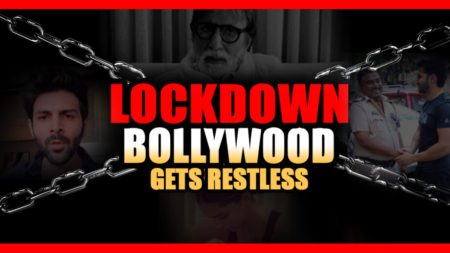 As We Are Into Week 4 Of Lockdown,  Bollywood Gets Restless