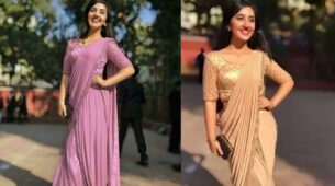 Ashnoor Kaur looks drop-dead gorgeous in saree 2