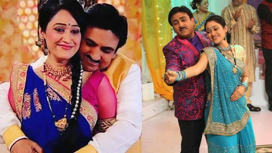 Daya and Jethaa's unseen romantic moments from Taarak Mehta Ka Ooltah Chashmah