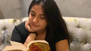 During my free time at home, I spend my time reading: Meera Deosthale