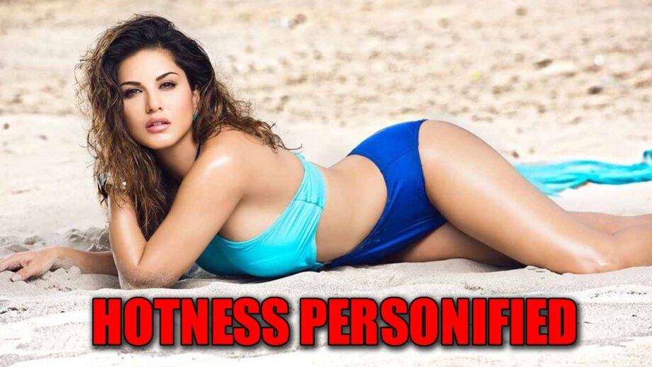 Hotness personified: Sunny Leone sizzles in her 'blue' bikini avatar!