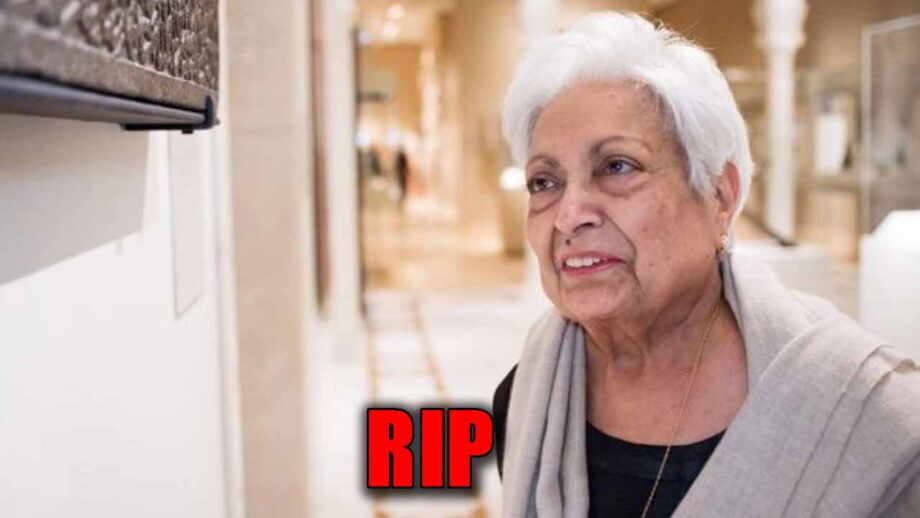Indian artist Zarina Hashmi passes away in London