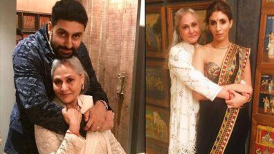 Jaya Bachchan's 72nd Birthday: Children Abhishek Bachchan and Shweta Bachchan wish her in the cutest way possible
