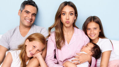 Jessica Alba and family nail the blinding lights challenge: Check Out