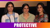 Khushi Kapoor protects sister Janhvi Kapoor just like mother Sridevi