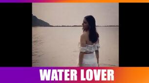 Kundali Bhagya fame Shraddha Arya's stroll in water makes us go aww