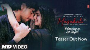 Marjaavan co-stars Sidharth Malhotra and Tara Sutaria to come together again in upcoming music video 'Masakali'