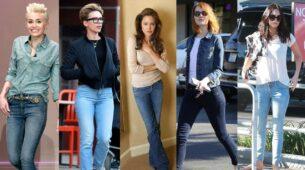 Miley Cyrus, Scarlett Johansson, Angelina Jolie, Emma Stone, Megan Fox In Denim: HOT or NOT? 11