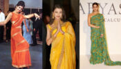 Mumtaz, Aishwarya Rai Bachchan, Alia Bhatt: Check Out Traditional Saree collection from 1960 to 2020