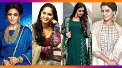 Nayanthara, Anushka Shetty, Keerthy Suresh, Samantha Akkineni: Styles for your BFF's Haldi and Mehendi with these outfits!
