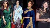 Nayanthara, Pooja Hegde, Tamanna Bhatia, Anushka Shetty: Best Celebrity Silk Saree Looks!