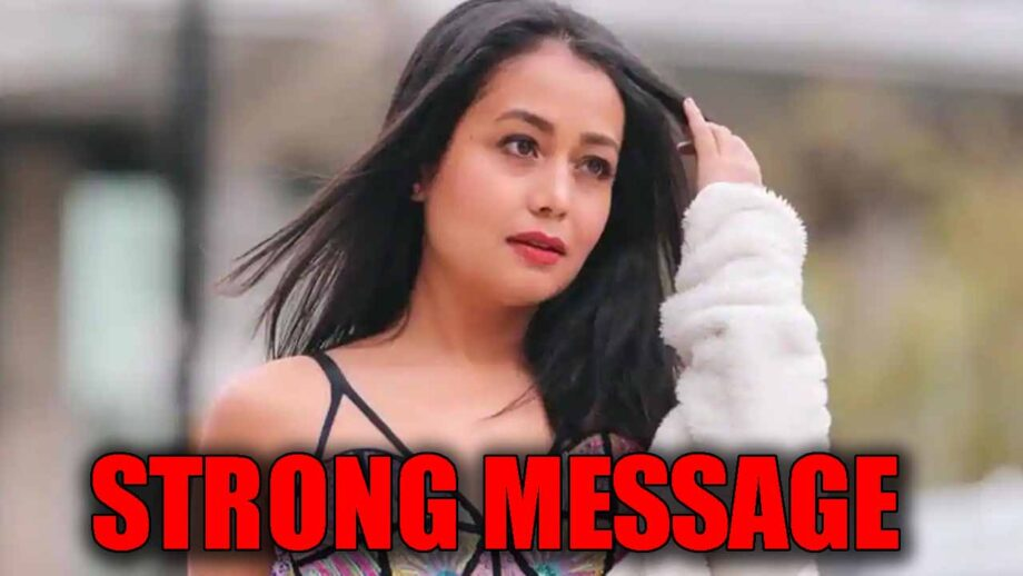 Neha Kakkar has a 'strong message' for all the women, check here 2