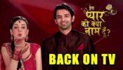 OMG: Iss Pyaar Ko Kya Naam Doon is back on TV: Gear up for Khushi and Arnav's ROMANCE