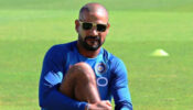OMG: Shikhar Dhawan's new fitness partner is giving him a tough fight