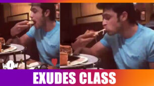 Parth Samthaan exudes style as he EATS