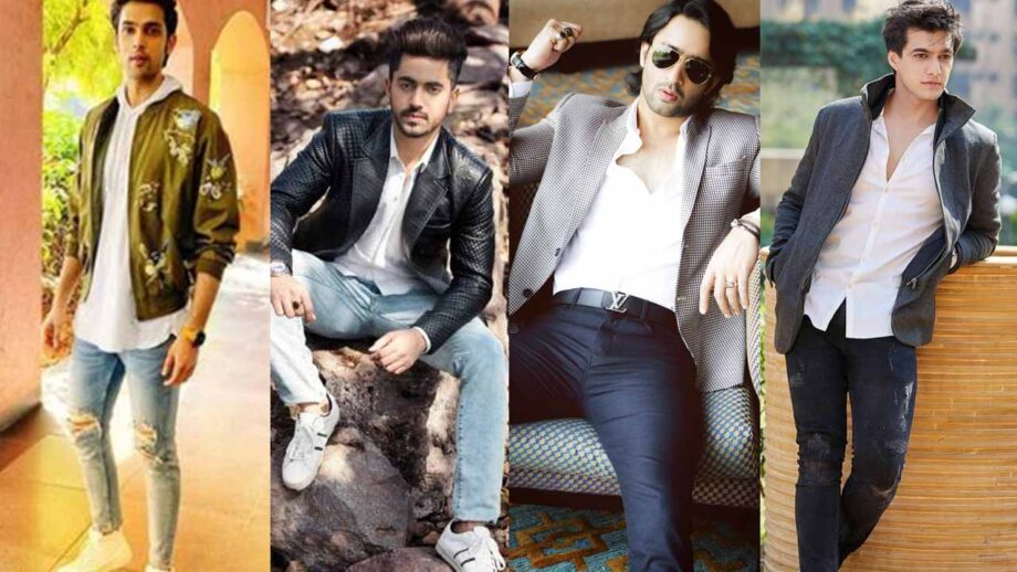 Parth Samthaan, Zain Imam, Shaheer Sheikh, Mohsin Khan: Handsome hunks and their style statement