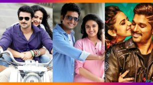 Prabhas-Anushka Shetty, Sivakarthikeyan-Keerthy Suresh, Allu Arjun-Rakul Preet Singh: South Cinema's most-loved on-screen star couples