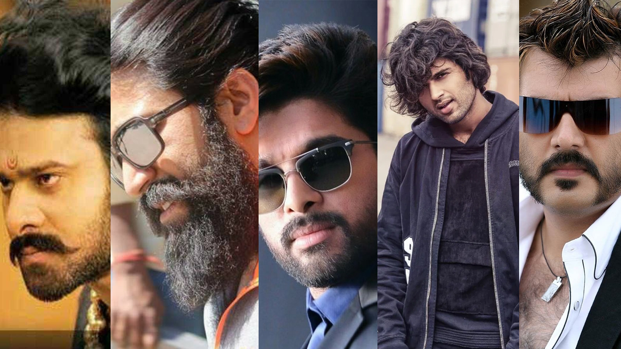 Prabhas Yash Allu Arjun Vijay Deverakonda Ajith Kumar 10 Tollywood Men S Hairstyles For That Stylish Look Iwmbuzz