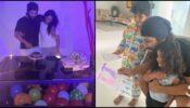 Quarantine Celebration: How Allu Arjun cut the birthday cake with wife Sneha and kids