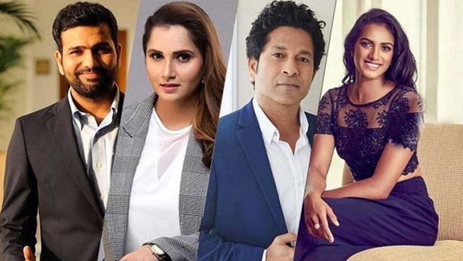 Rohit Sharma, Sania Mirza, Sachin Tendulkar, P V Sindhu: Indian Sports Stars fight  COVID-19 like champions