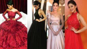 Shivangi Joshi's HOT red carpet looks 3