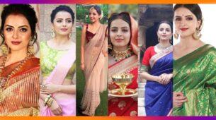 Shrenu Parikh's 7 Saree Looks That Are Super Stylish And Elegant!