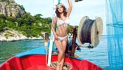 Sunny Leone raises the 'oomph' quotient in her sexy white bikini, Checkout Picture