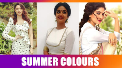 Tamannaah Bhatia, Sai Pallavi, Keerthy Suresh: Tollywood Actresses Shine In Summery Colours