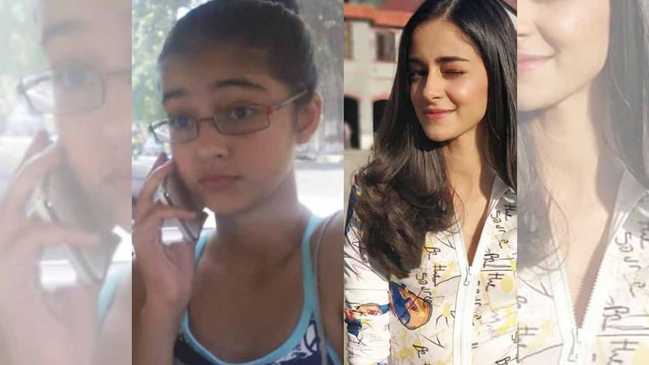 Then and Now Ananya Panday's transformation will leave you ...