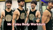 These 8 sexy workout photos of Faisu will motivate you to hit the gym