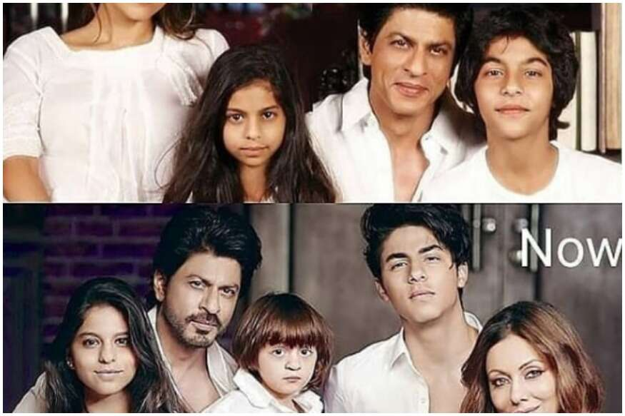 This beautiful throwback photo of Shah Rukh Khan with his wife and family is doing the rounds on the Internet 1