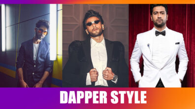Vicky Kaushal, Ranveer Singh, Shahid Kapoor: Stars who dress up and look like dapper superstars